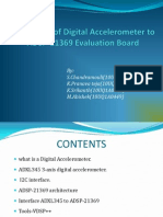 Digital Accelerometer Using ADSP-21369 Evaluation Board (2)