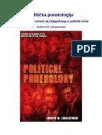 Andrew M. Lobaczewski - Politička ponerologija, Naučna studija o prirodi zla prilagođenog za političke svrhe