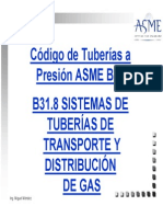B31.8 ASME
