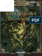 D&D 3.5 - Adventure - The Shattered Gates of Slaughtergarde