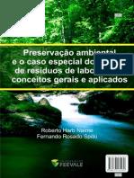 Preservação ambiental manejo de residuao de laboratório