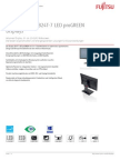 Bwpc4 Datenblatt de Display FUJITSU B24T 7 LED ProGREEN