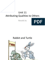 unit 11 attributing qualities to others
