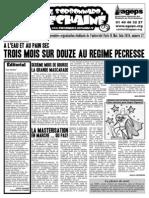 Le Sorbonnard Déchaîné n°27 (juin 2010)