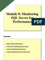 08. Monitoring SQL Server for Performance