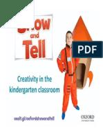 WW MakingTheMostOfCreativityInTheKindergartenClassroom