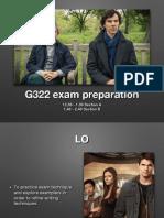 G322 Section a Exam Prep 14