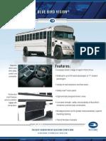 Blue Bird Vision Activity/MFSAB Specification Sheet