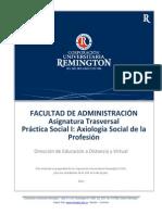 Practica Social I Axiologia Social de La Profesion