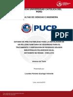 Estudio Pre-factibilidad Relleno Sanitario Residuos Solidos Botadero Anexos