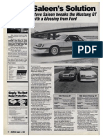1985 Saleen Mustang GT drive review