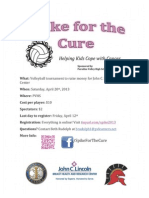 2014 Spike for the Cure