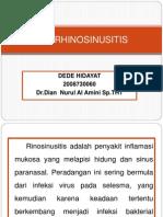 Hta Rhinosinusitis
