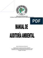 Manual de Auditoria Ambiental