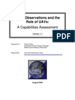 Earth Observation and the Role of UAV