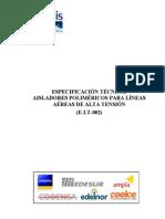 Aisladores Polimericos de Alta Tension - Coelce Normas Corporativas