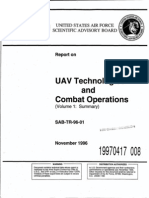 UAV Technologies and Combat Operations