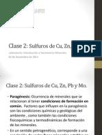 Clase Sulfuros Intro a Yacimientos Minerales Primavera 2011
