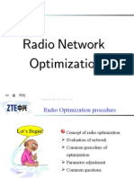 05) Radio Network Optimization