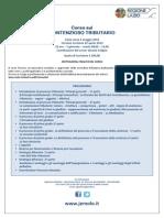 Locandina Corso Contenzioso Tributario Avvocato Nicola Ricciardi