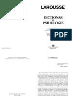 dictionar psihologie Larousse