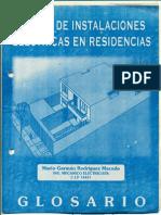 TABLA DE INSTALACIONES ELÉCTRICAS