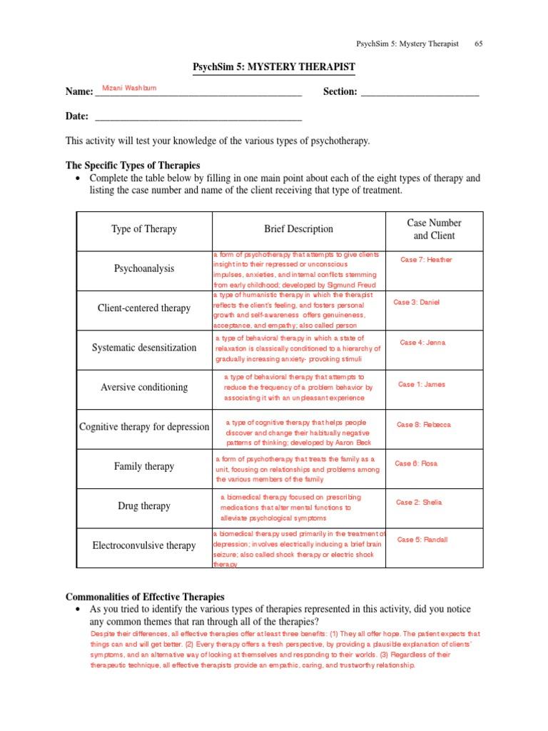 Printables Psychsim 5 Worksheet Answers psychsim worksheets davezan collection of bloggakuten