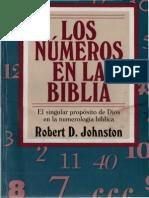 29304265 Johnston Robert Los Numeros en La Biblia