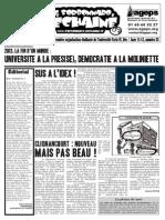 Le Sorbonnard Déchaîné n°33 (dec/jan 2011-2012)