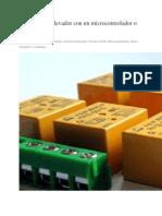 Conectar Un Relevador Con Un Microcontrolador  Arduino