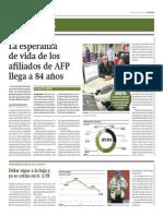 Esperanza de vida afiliados AFP es 84 años_11-04-2014