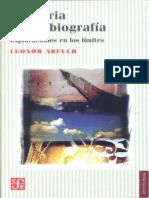 Arfuch - Memoria y Autobiografia