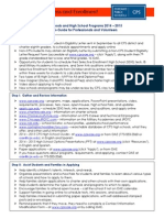 high schools and programs - 2014-2015 mini-guide