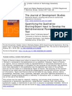 Quantifying the Qualitative