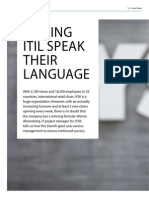 Making ITIL Speak Their Language