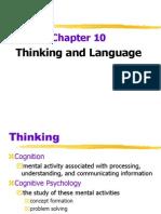 ch10 thinking and language