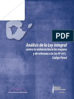 Analisis Ley 779