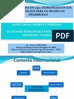 Argentina y Asia 2030 - Gustavo Idigoras