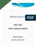 Argentina y Asia 2030 - Regunaga