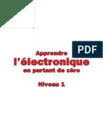 Apprendre l'électronique en partant de zéro Niveau 1.pdf