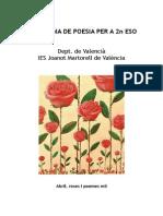 Breu Antologia Poètica Per a 2n ESO-2014
