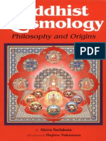 Buddhist Cosmology Philosophy and Origins