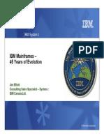 IBM Mainframe History