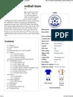 India National Football Team - Wikipedia, The Free Encyclopedia