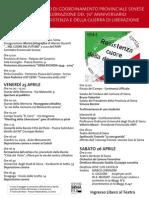 Programma 25 Aprile 2014