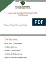 Confiabilidad de Componentes y Sistemas
