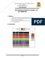 Informe Final Resistencias Uso Del Ohmimetro Analogico