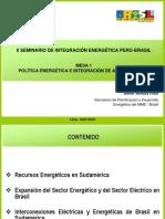 Mesa 1 - Altino - Seminario Brasil - Peru