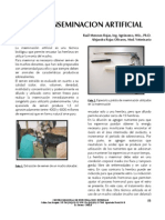 Inseminacion Artificial en Bovinos - Oxapampa