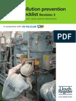 PSC Pocket Checklist MARPOL 0913 Web